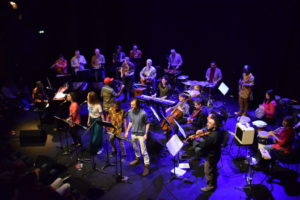 Concert with Kalimba orchestra of Angoulême