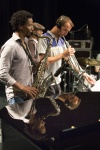Irving Acao ,Sylvain Gontard & Etienne Mbappe Sound Chek © Yves Petit.jpg